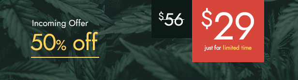 Calmes - Medical Marijuana WordPress Theme - 4